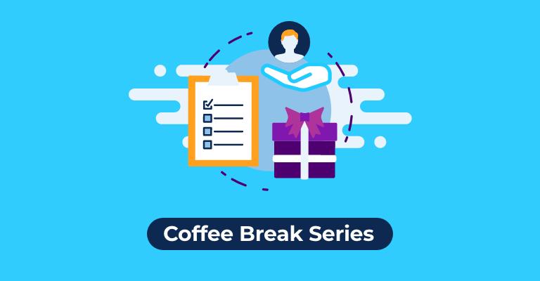 Gifting coffee break card